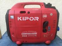 Kipor generator 3000tc camping mate was used in Motorhome