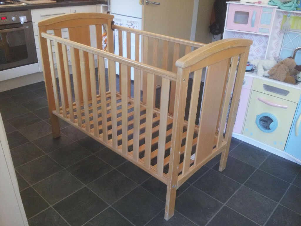 Cot - East Coast Nursery Ltd - Katie Cot – Natural beech plus free ...
