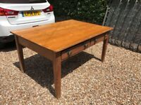 Antique wooden kitchen/dining table,