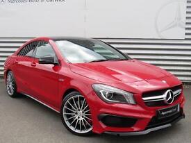 Mercedes-Benz CLA AMG CLA 45 4MATIC (red) 2016-04-29