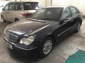Mercedes-Benz c220 cdi 2002 52 reg