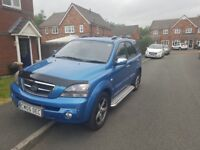 Kia Sorento XSE very low milage, full service history, 9 months mot, Brilliant solid 4x4