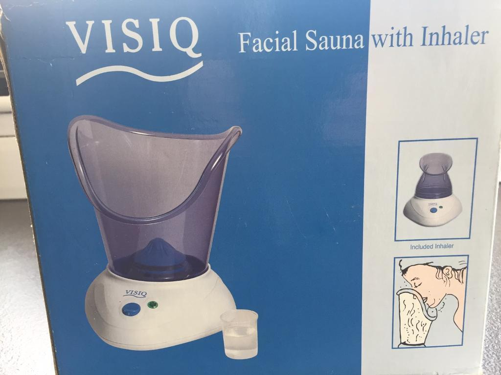 Visiq Facial sauna with inhaler