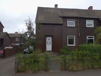 2 Bedroom semi-detached Swiss style timber house for sale in Polbeth – Offers over £115000