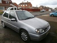 V reg Citroen Saxo for sale ... Very reliable car & brand new MOT ... Great little runaround