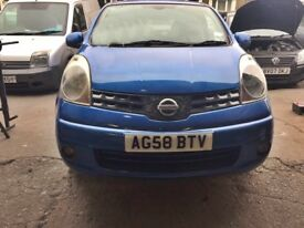 NISSAN NOTE 2008 In Immaculate Condition
