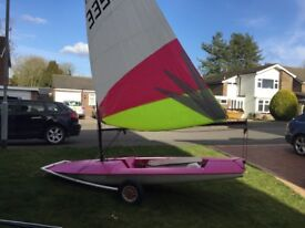 Topper Sailing dinghy
