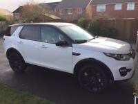 Land Rover Discovery sport HSE Black edition