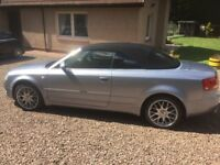For sale Audi A4 convertible 2006 petrol