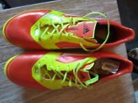 Blades Adidas Football/Rugby boots size uk 9