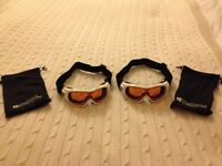 Child's Skiing goggles - white - excellent condition