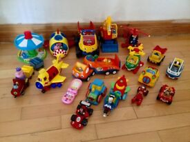 WOW, Peppa Pig and Little Tikes toy collection