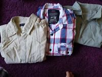 Mens longs sleeve shirts and jumper bundles