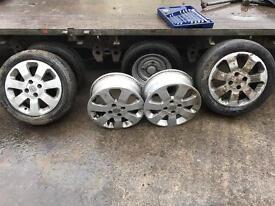 Corsa sxi wheels