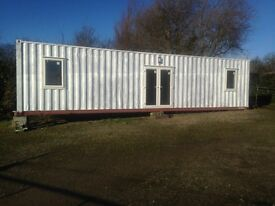 Mobile container conversion home