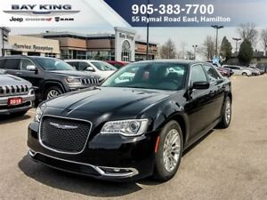 2017 Chrysler 300 TOURING, GPS NAV, SUNROOF, REMOTE START, BACKU