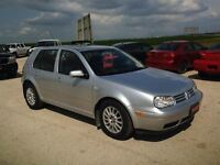 2005 Volkswagen Golf GLS Rated A+ by the B.B.B