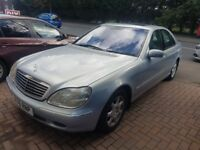 Mercedes S280 petrol for Spares or Repair