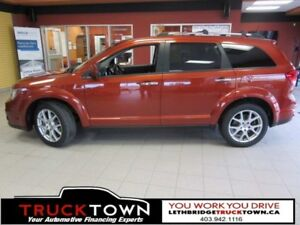 2014 Dodge Journey R/T-HEATED LEATHER-7 SEATER-SUNROOF