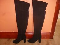 Autograph Leather Knee Boots