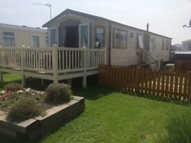 3 Bed 8 birth Platinum caravan for sale