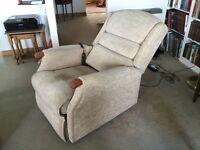 Sherborne high riser /recliner arm chair