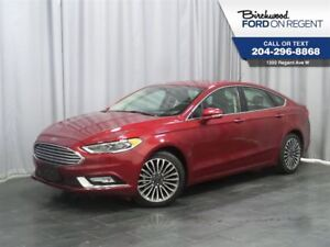 2017 Ford Fusion SE AWD*Leather/Moon Roof/Navigation*