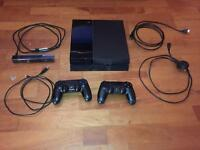 PS4 500GB + games