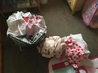 Huge Baby's Girls clothes bundle 0-3 & 3-6months