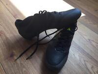 addidas footbal boots worn once