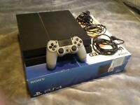 PlayStation 4 Console with limited edition controller