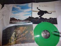"""EDDIE VEDDER-(PEARL JAM) RARE LP-"""" INTO THE WILD""""-GREEN VINYL + BOOK-VFR-2007"""
