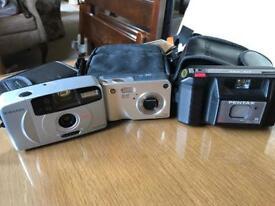 3 different cameras