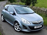 SUPERB CONDITION! VAUXHALL CORSA SRI 3DR 1.4 ( 2007 ) DIESEL FULL SERVICE HISTORY