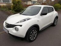 Nissan Juke 1.5 dCi N-Tec 5dr [Start Stop] (white) 2014