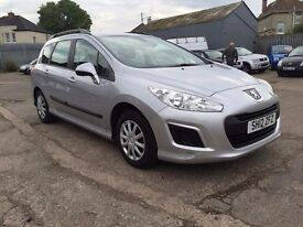 2012 PEUGEOT 308 ACCESS SW HDi *£30 YEAR ROAD TAX*