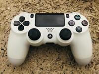 White PS4 DualShock Controller