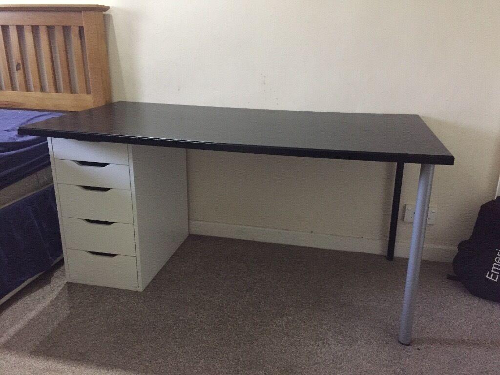 Large Desk 150cm X 75cm Ikea Klimpen Top Surface With