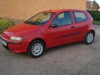 2003 Fiat Punto Active Sport Full Year MOT