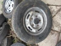 transit wheel rim and tyer