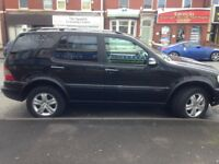 05/ MERCEDES 270 CDI ML AUTO FACE LIFT MOD TURBO DIESEL ONLY £1995