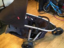 Phil & Teds double Buggy