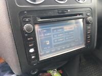 Vw caddy dvd sat nav