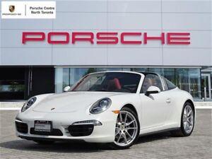 2016 Porsche 911 TARGA 4 - UNLIMITED KM WARRANTY