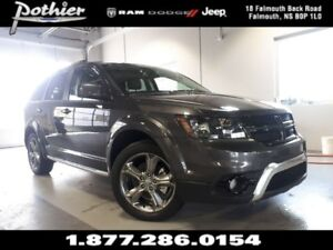 2017 Dodge Journey Crossroad | LEATHER | SUNROOF | REAR CAMERA |