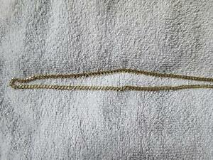 10k solid gold curb link chain 14grams