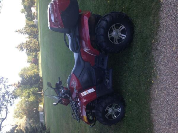 Used 2010 Arctic Cat 1000 H2 EFI TRV 4x4 Cruiser