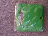 Green tablet cover new 10""