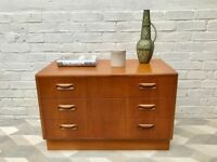 Vintage Retro Chest of Drawers G Plan #555