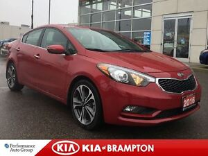 2016 Kia Forte SX NAVI LEATHER SUNROOF BLUEOOTH LOADED!!